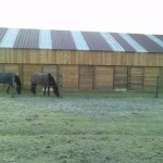 Vue arrière barn